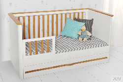 Ruban gulta 70x140. Gultiņas zīdaiņiem. Slon mebeles