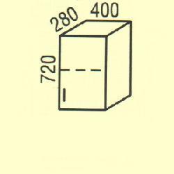 Верхние шкафчики Размер столешницы для кухни G-10