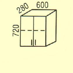 G-18 - Верхние шкафчики  - Новинки - Купить Мебель