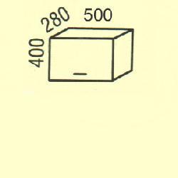 Верхние шкафчики G-2 Размер столешницы для кухни