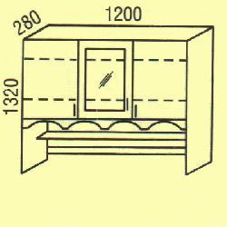 G-35 - Верхние шкафчики  - Новинки - Купить Мебель