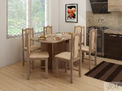 Раскладной стол для кухни. Раскладные столы. Стол книжка EXPERT 2