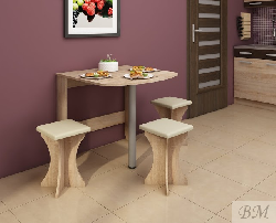 Стол книжка EXPERT 6. Раскладные столы. Раскладной стол для кухни