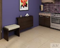 Раскладной стол для кухни. Стол книжка EXPERT 8. Раскладные столы