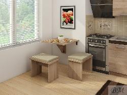 Раскладные столы. Стол книжка EXPERT 7. Раскладной стол для кухни