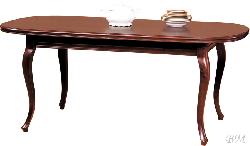 Деревянные столы. Wersal ZB-5 стол. Стол цвет орех lv