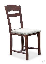Разные стулья PAWEŁ dark walnut/cream стул Купить Мебель