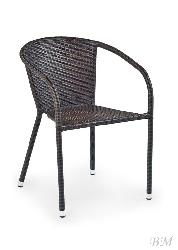 Litotas pitas mebeles. Krēsli dārza. MIDAS krēsls (rotanga dārza mēbeles)
