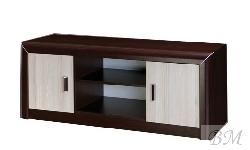 Grand GR-8 ТВ шкаф - ТВ комоды тумбы - модульные системы цвета венге и светлый дуб