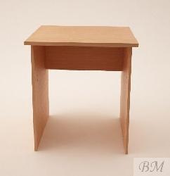Офисный стол 2040. Пуф для офиса на хромированной ножке под заказ. Офисные столы