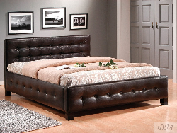 Barcelona bed. Soft beds. Metal haned made barbecue