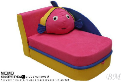 Bog Fran - Furniture Manufacturer Poland - Soft furniture for children - Сostly NEMO small sofa