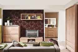 дизайн мебель гостиная - Гостиные Модерн - Kaspian sonoma гостиная