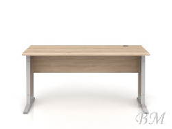 brw мебель madox - Офисные столы - Письменный стол BRW-OFFICE-BIU/72/150