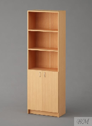 Офисная мебель Стеллаж 1081 (10-1081) Купить Мебель