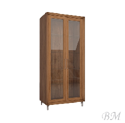 Enzo W2D glass case - Showcases  - Novelts - Sale Furniture
