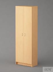 Skapīši, skapji - balts skapis bernistabai - Biroja drēbju skapis 1087 (10-1087)