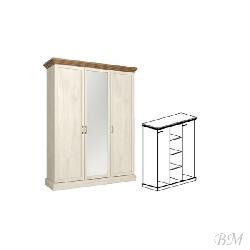 ROYAL S3D skapis - Skapji 3-durvju  - Jaunumi - NoPirkt KurPirkt Mēbeles
