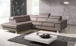 Ādas stūra dīvāni izvelkami COSTA stūra dīvāns Stūra dīvāni