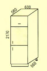 D-14. Нижние шкафчики. Ручки для кухни