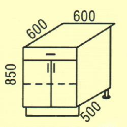 D-34 - Нижние шкафчики  - Новинки - Купить Мебель