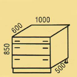 D-40 - Нижние шкафчики  - Новинки - Купить Мебель