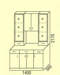 Комплект - Нижние шкафчики  - Новинки - Купить Мебель