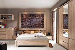 Kaspian sonoma bedroom -  - Novelts - Sale Furniture