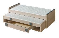 Gumi G16 - детские кровати 2 х ярусные - Кровати Кроватки