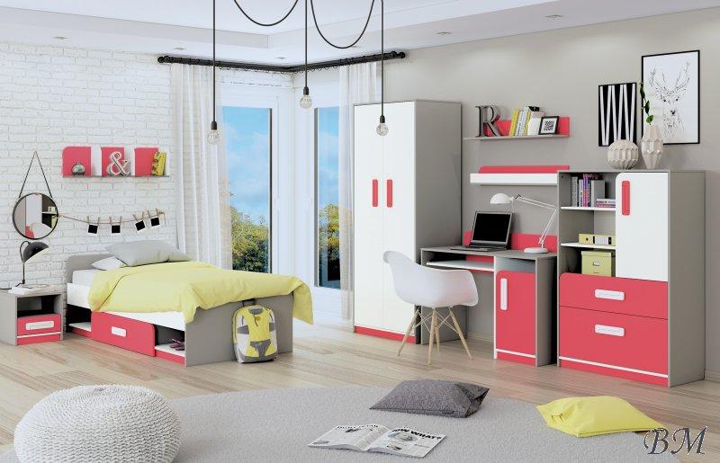 детская модульная мебель в латвии для младенцев - Мебель Детская комната Секции Молодежные - MODERN секция для подростка