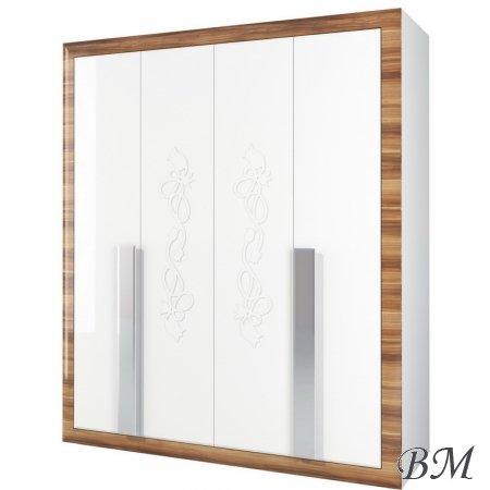 Lotus МН-116-03 skapis - Mēbeles Garderobe SKAPJI 3-durvju skapji - telpu dekori pirmsskola