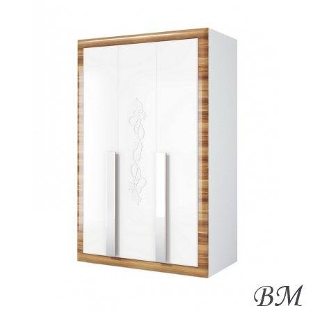 Mēbeles Garderobe SKAPJI 3-durvju skapji - telpu dekori pirmsskola - Lotus МН-116-03 skapis