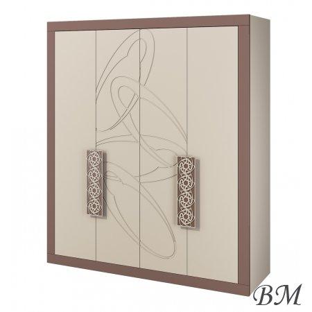 Мебель Гардероб ШКАФЫ 3-дверные шкафы - модный стационарный проигрыватель - БАРСЕЛОНА МН-115-03 шкаф