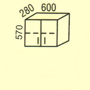 Купить Мебель Польша Верхние шкафчики Polija G-3(2)
