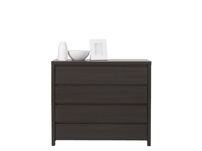 Sale Furniture commode Poland Black Red White ( BRW ) Dressers KOM4S Kaspian