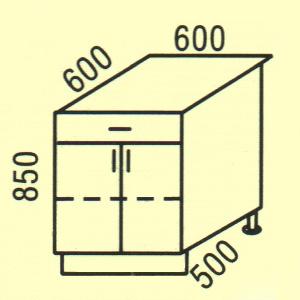 Купить Мебель Польша Нижние шкафчики D-34 Polija