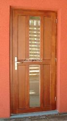 Комбинированная дверь AD2 - Входные ( наружные ) деревянные  двери