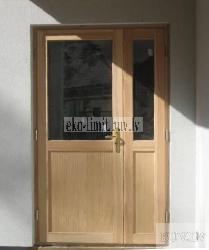 Дверь входная 8 - Входные ( наружные ) деревянные  двери