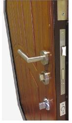 Металические двери из гнутого профиля - Металлические двери