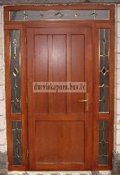 Входная дверь AD3 - Входные ( наружные ) деревянные  двери