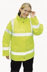 Jackets - EN 471 Ladies Traffic Jacket S360