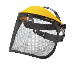 Face protection and helmets - Browguard with Mesh visor