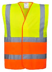 Two Tone Hi-Vis Vest C481 Vests