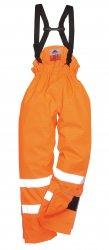 Огнестойкая антистатическая рабочая одежда - Светоотр. антистатические огнестойкие водонепроницаемые брюки Bizflame