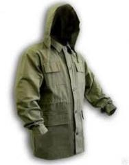 Raincoats - Working Jacket green XL, rubberized fabric