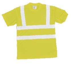 T-krekli - Gaismas atstarojošs T-krekls S478 sarkans