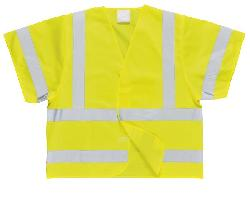 Hi-Vis Short Sleeved Vest C471 Vests