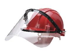 Face protection and helmets
