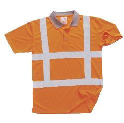 T-krekli - Gaismas atstarojošs polo T-krekls R422