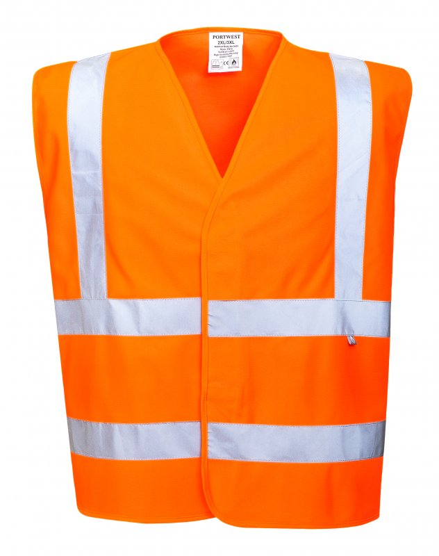 Светоотражающий жилет с огнеупорным покрытием Инструменты - РАБОЧАЯ ОДЕЖДА - Огнестойкая антистатическая рабочая одежда